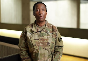 Brig. Gen. Katherine White from Task Force Center