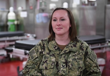Roanoke, Va. Native Serves Aboard USNS Comfort