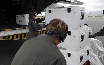 Coast Guard aircrews transport Maui Food Bank supplies to Molokai