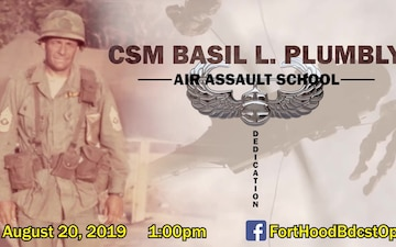 CSM Basil L. Plumley Air Assault School (SOCIAL MEDIA GRAPHIC)