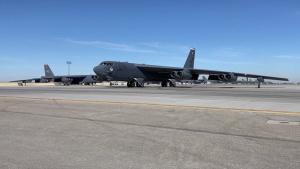 B-52H Stratofortress taxi