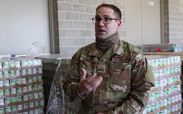 Nebraska National Guard supports food bank operations