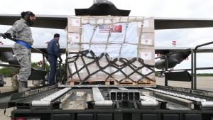 Turkey Sends Supplies to Combat Corona Virus