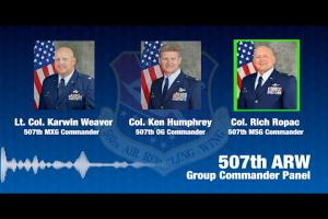 507th ARW group commanders' COVID-19 panel