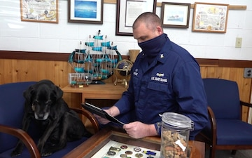 Beloved mascot earns star in Station St. Ignace advancement ceremony