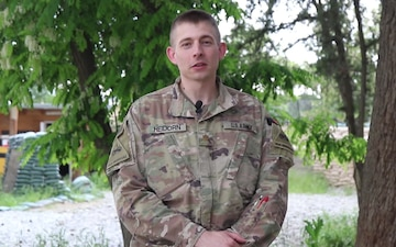Maj Thomas Heidorn Mother's Day Shout Out