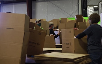 110th Wing helps serve the local community in Battle Creek, Michigan