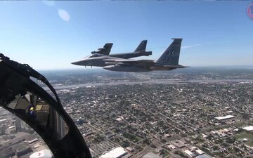 La. National Guard participates in flyover for frontline workers