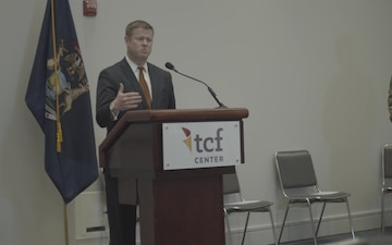 TCF Center Press Conference
