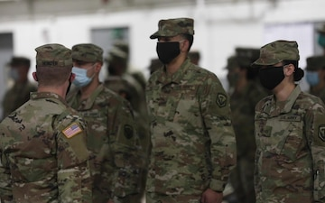 B-Roll: 328th Military Police Company deploys