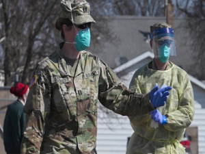 North Dakota Governor Thanks Guard Members