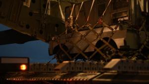 C-17 Lands at Minot