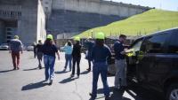 Huntsville Center Leadership Development Program visits Nashville District's Wolf Creek Dam