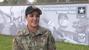 Interview with 1LT Amber English - 2021 Skeet Olympian & U.S. Army Reserve Soldier