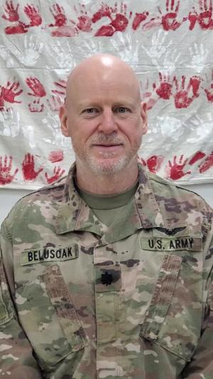 Lt. Col. Timothy Beluscak