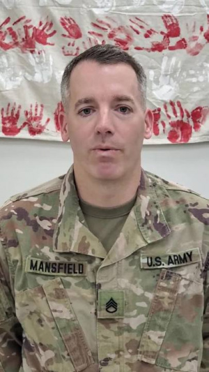 Staff Sgt. Kevin Mansfield