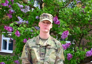 1LT Ethan Handley, Happy Mother's day