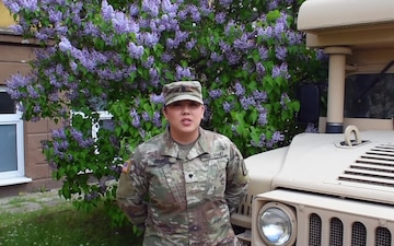 SPC Sabrina Valdez, Happy Mother's Day