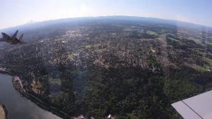 In-Flight GoPro footage from Flyover Friday