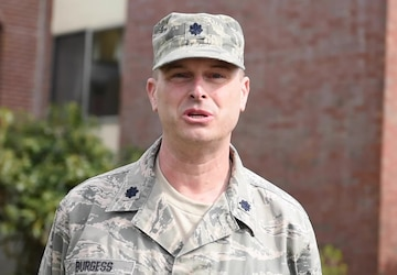 Mother's Day Greeting: Lt. Col. Steve Burgess