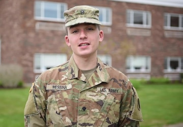Mother's Day Greeting: Spc. John Messina