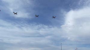 America Strong Flyover: Portales, New Mexico