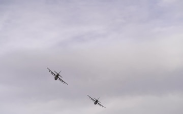 Cannon Flyover of Clovis PRMC 11MAY20