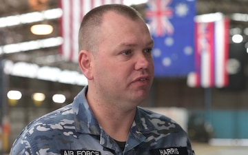 Small Detachment Provides Global Air Mobility in Australia RAF Commander Interview