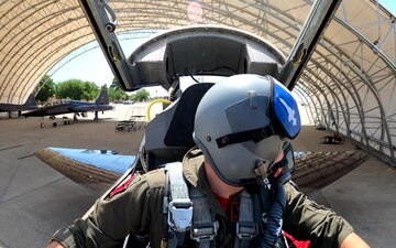 T-38 Talons flyover for Air Force Salutes