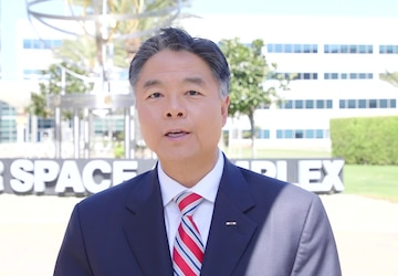 Asian Pacific American (APA) Heritage Month greeting with Rep. Ted Lieu (33rd, CA)