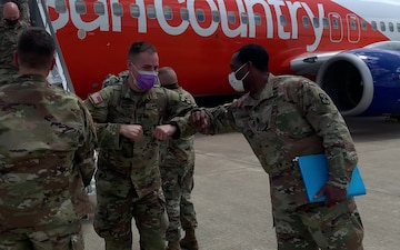 9th Hospital Command medics return home after aiding in COVID-19 fight