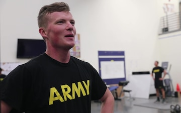 Pvt. Jacob Babineau B-Roll Package - A Day in the Life: Physical Training