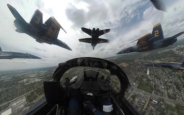 Indianapolis America Strong Flyover