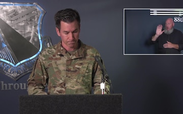 Wright-Patterson AFB Coronavirus Situation Update Live Town Hall