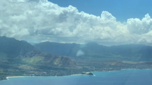 Team Hickam Airmen Salute Hawaii Residents with Flyover