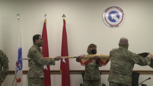 Transfer of Authority Ceremony 103d ESC and 311th ESC