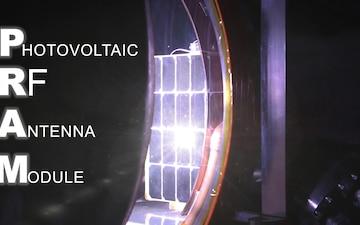 Photovoltaic Radio-frequency Antenna Module