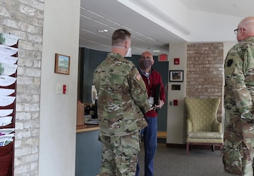 Pennsylvania National Guard's Support at Long-Term Care Facilities