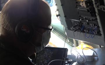 KC-135 Cockpit B-Roll NJ Salutes