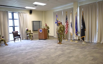 253rd Cyberspace Engineering Installation Group Change of Command
