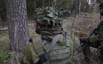 NATO eFP Battlegroup Estonia conducts Exercise Spring Storm