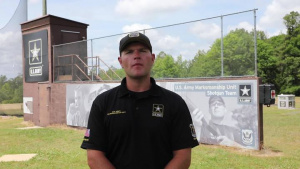 Army Birthday Greeting from USAMU's Sgt. Will Hinton