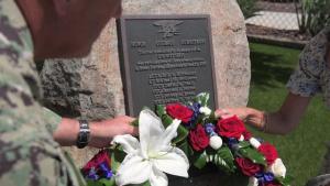 ADM Collin Green Memorial Day Wreath Laying