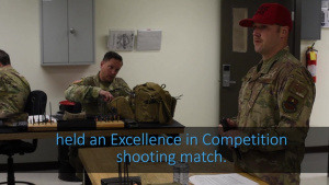 Excellence in Competition (EIC) Shooting Match
