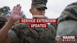 Marine Minute: Service Extension Updates