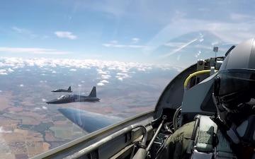 Beale AFB T-38 Social Media Highlights