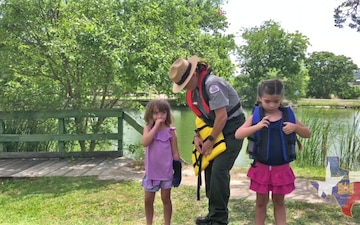 Life Jacket inspection and Fit with Ranger Jones