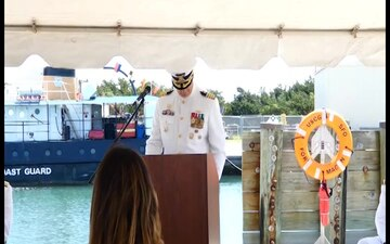 Coast Guard Sector North Carolina holds Change of Command Ceremony in Atlantic Beach, North Carolina
