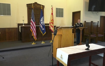 Fort McCoy Memorial Day Prayer Event