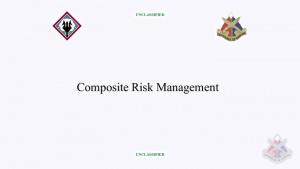 Composite Risk Management Training Course